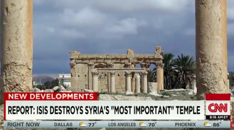 ISIS damages Bel, Syria's 'most important temple