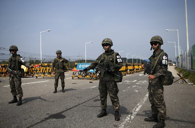 South Korea Vows Not to Back Down in Military Standoff With North