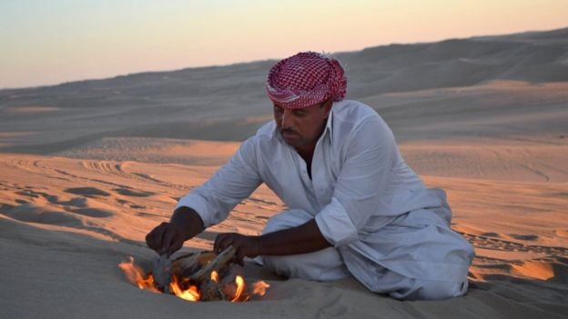 The vast Western Desert area is popular with tourists