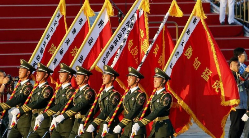 China shows power in parade