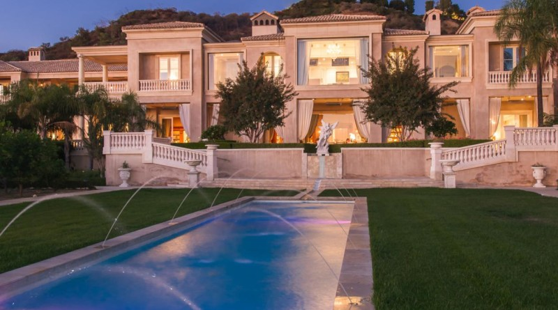 Palazzo di Amore, the most expensive home listing in the United States