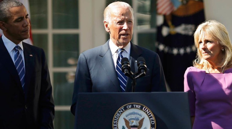 biden announce not to run in 2016