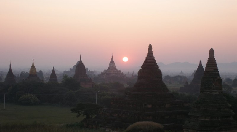 Bagan is spirit of history of Myanmar.
