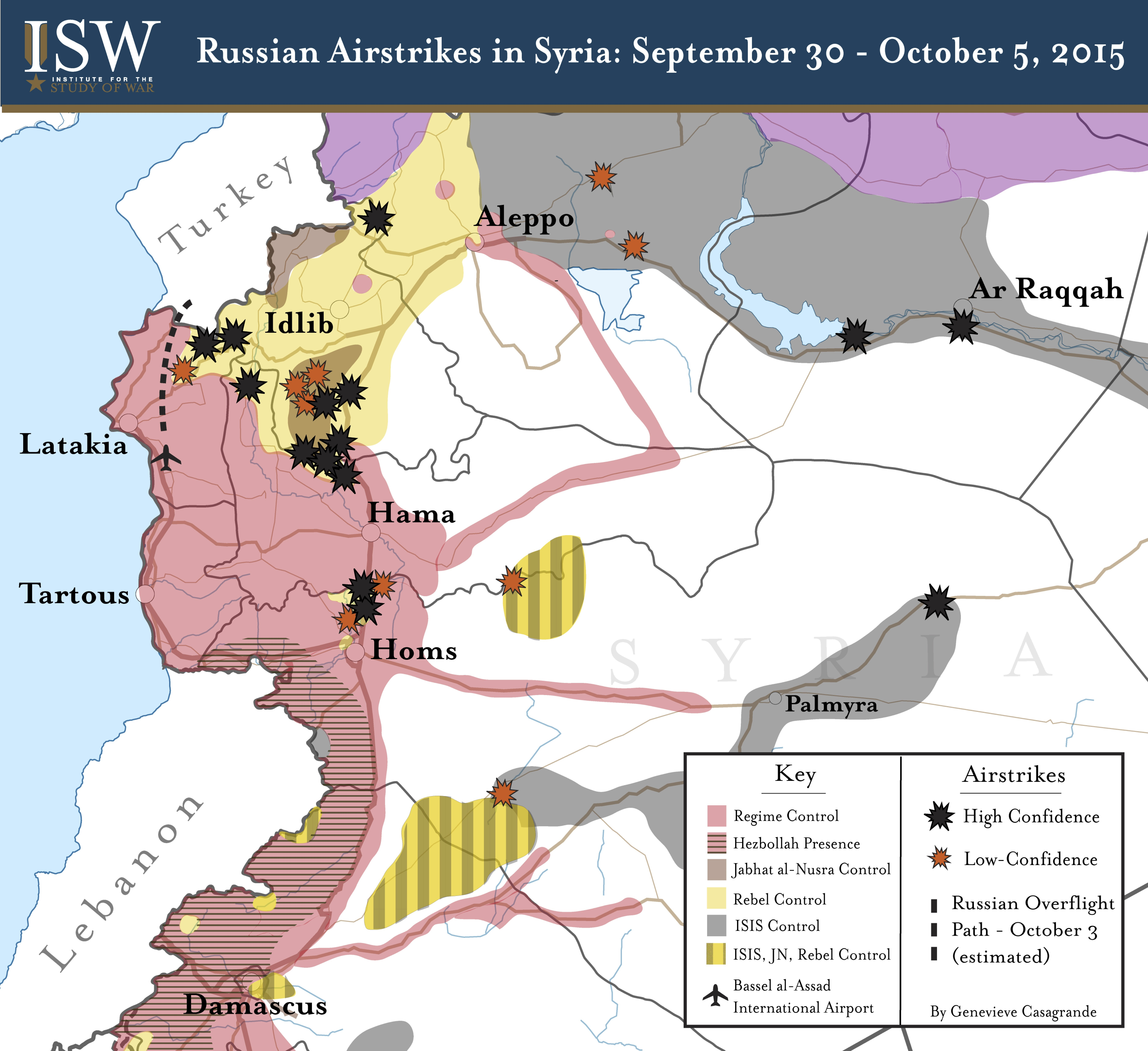 russian-airstrikes in syria