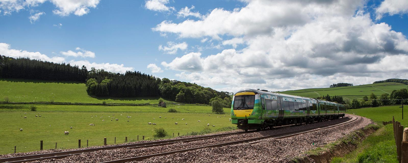 travelling with train in scotland