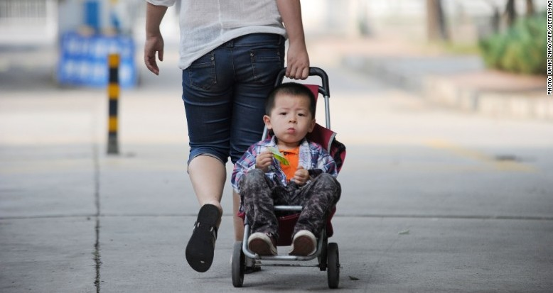 China's Two-child Policy: New Number, Same Disaster (photo CNN)