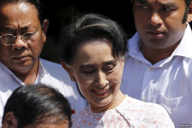 Myanmar Opposition Party Wins First Seats in Expected Landslide 2 (photo Reuter)
