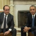 Obama Holds Security Talks as Hollande Urges Action Against IS