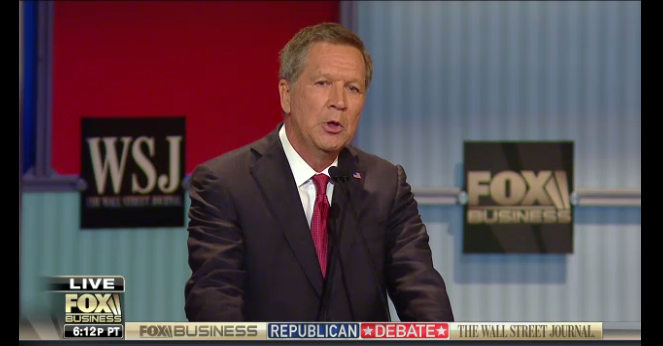 The Winners and losers from last GOP debate - Kasich