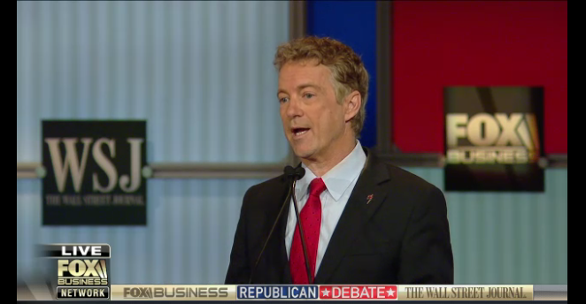 The Winners and losers from last GOP debate - Rand Paul