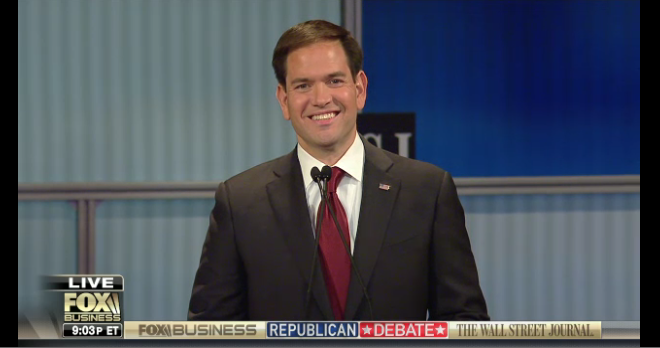 The Winners and losers from last GOP debate - Rubio