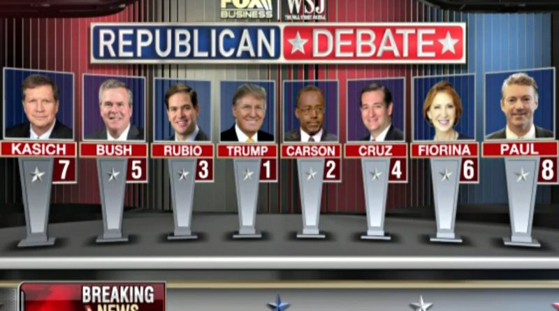 The Winners and losers from last GOP debate