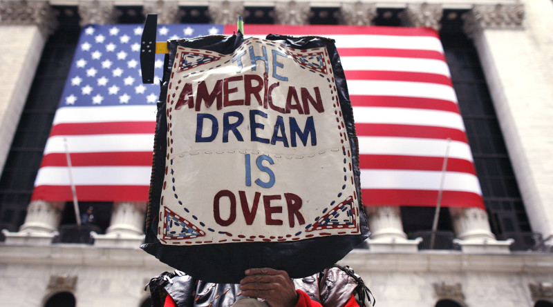 48% of 18-29 age feel American Dream is dead (photo blogs.reuters.com)