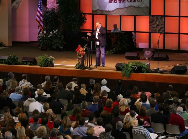 Newsmax's Top 50 Megachurches in America (David McNew -Getty Images)
