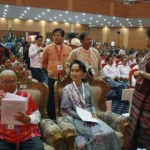 Aung San Suu Kyi takes center stage at Myanmar peace talks