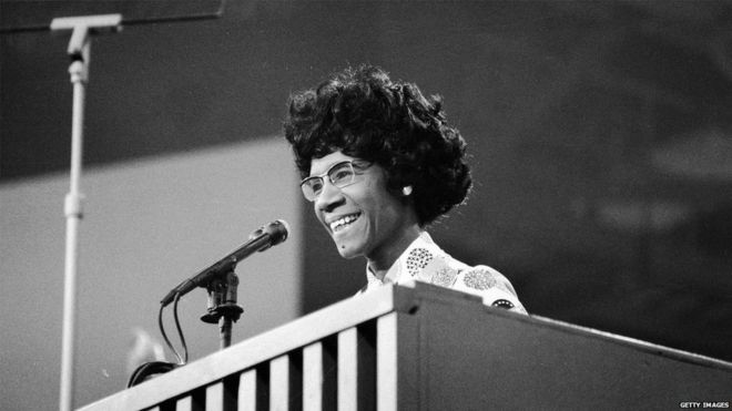 Before Hillary Clinton, there was Shirley Chisholm 1