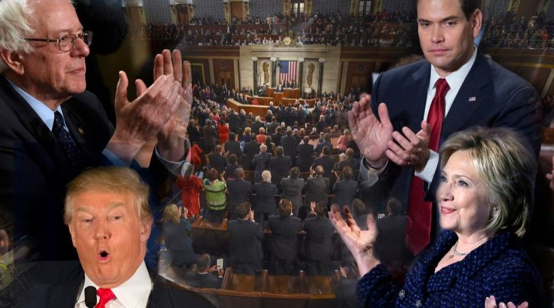 How the top 2016 candidates reacted to the State of the Union address