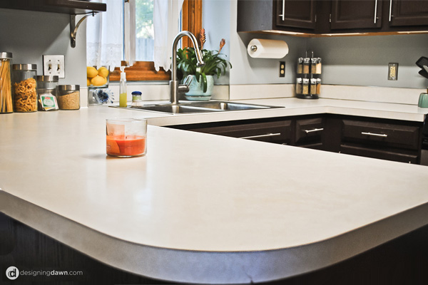 Your kitchen countertop doesn't have to look so sad - Here are 6 DIY solutions 5