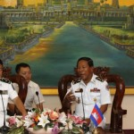Cambodia requests 2 warships from China