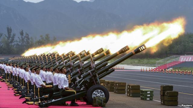 China arms Exports double as regional tensions mount