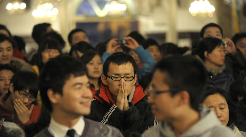 Leave China, Study in America, Find Jesus