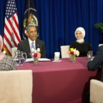 Obama visits to US mosque