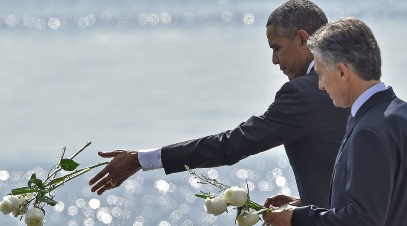 Obama honors victims of Argentina's dirty war