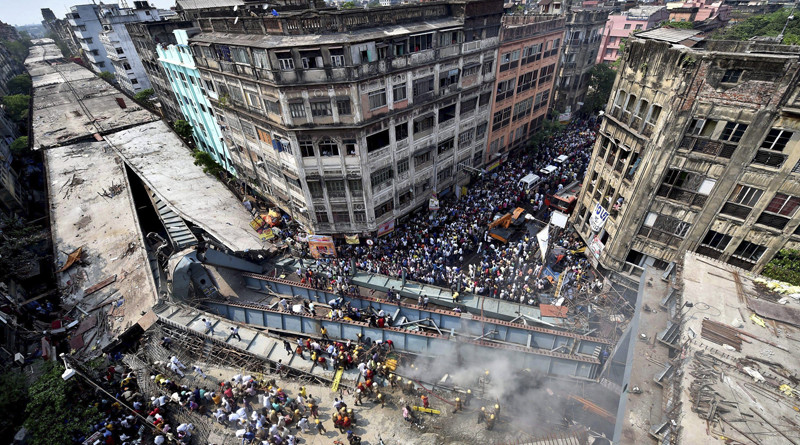 5 arrested for India's overpass collapse
