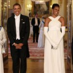 Obama in Britain will dine with royals