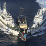 Japan protest Chinese warship