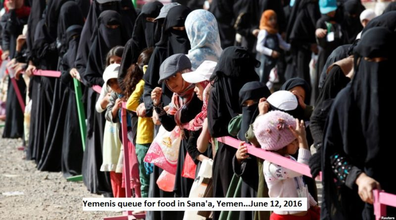 Yemenis face dire food insecurity