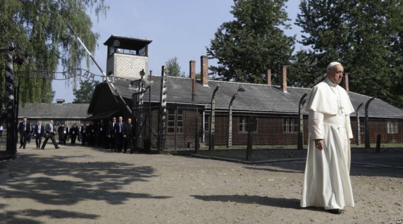 Pope Francis visits Auschwitz concentration camp