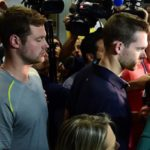 2 U.S. Olympic swimmers pulled off plane as part of Rio robbery probe: