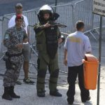 A suspicious bag discovered in Rio Olympic