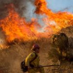 California firefighters make progress against wildfire