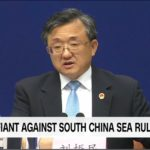 China defiant against maritime ruling