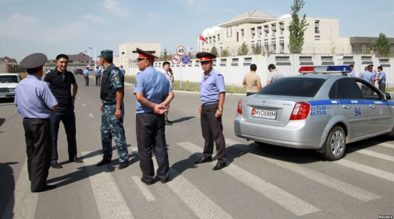Chinese embassy in Kyrgyzstan attacked