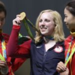 First gold medal of Rio goes to American
