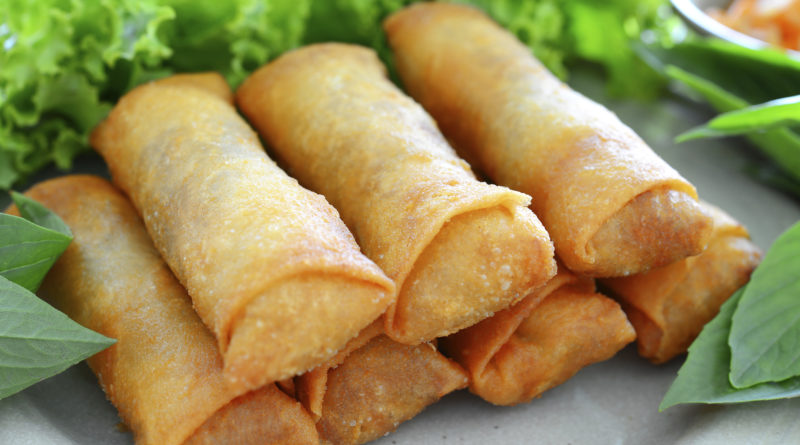 How to make spring rolls, Chinese recipe