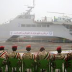 Iran launches new navy ship
