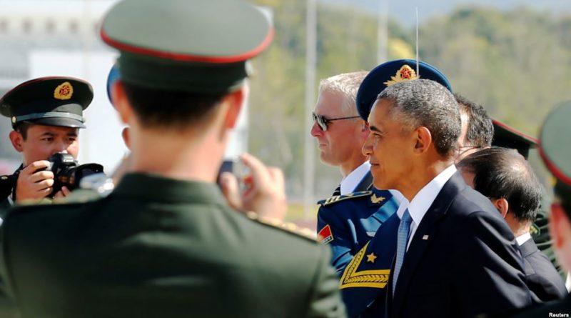 Obama arrives in China for G-20 Summit