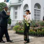 Obama to welcome Suu Kyi for talks on sanctions