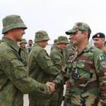 Russian join Pakistan in rare military drill