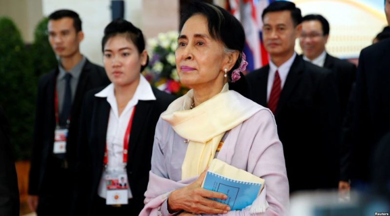Suu Kyi to discuss sanctions change in US visit