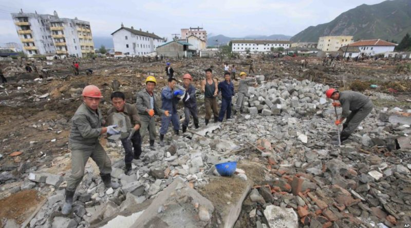 N. Korean flood victims caught in nuclear standoff
