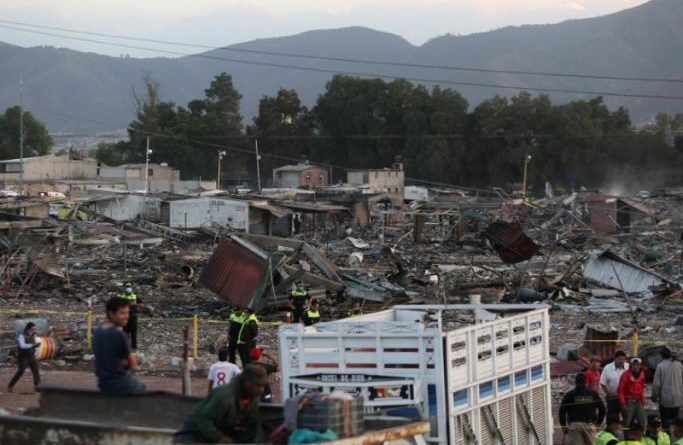 Mexico's deadly fireworks explosion