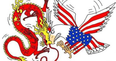 US China trade war loom