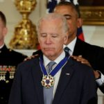 Biden surprised with Presidential Medal of Freedom