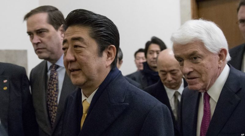 Trump holds 2-day summit with Abe