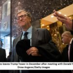 Bill Gates talks foreign aid in meeting with Trump